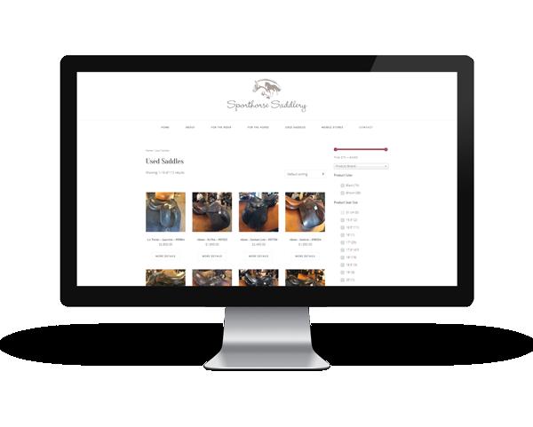 Used Saddles - Sporthorse Saddlery